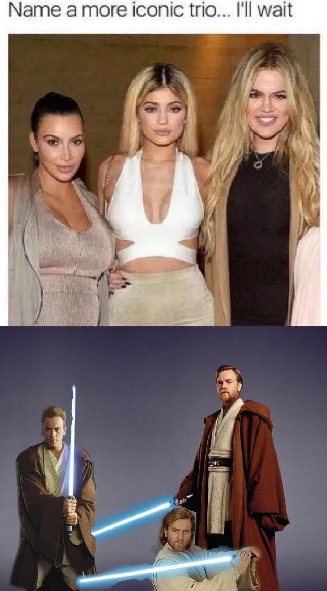Hair - Name a more iconic trio... I'll wait