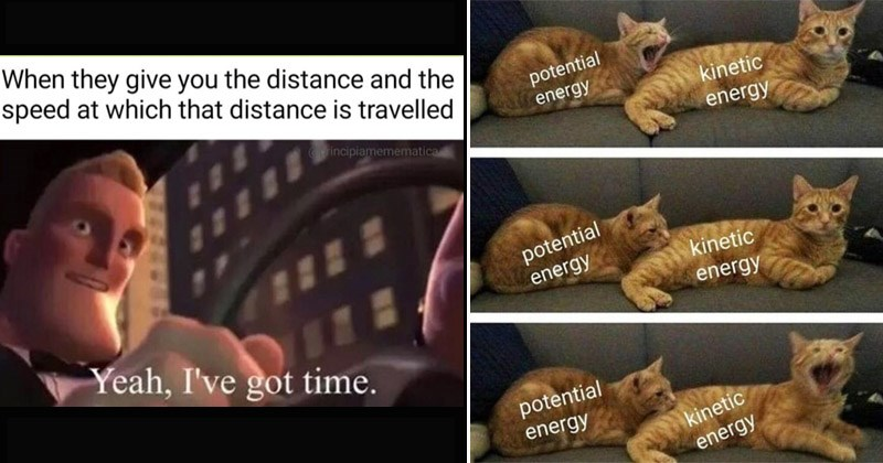 Funny memes about physics