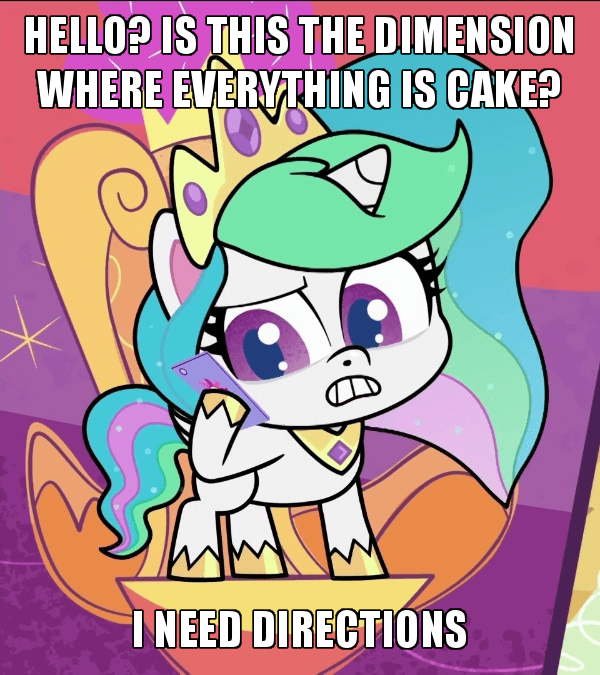 pony life screencap pinkie pie hyper helper princess celestia - 9522592768
