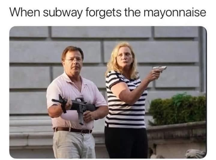 Product - When subway forgets the mayonnaise