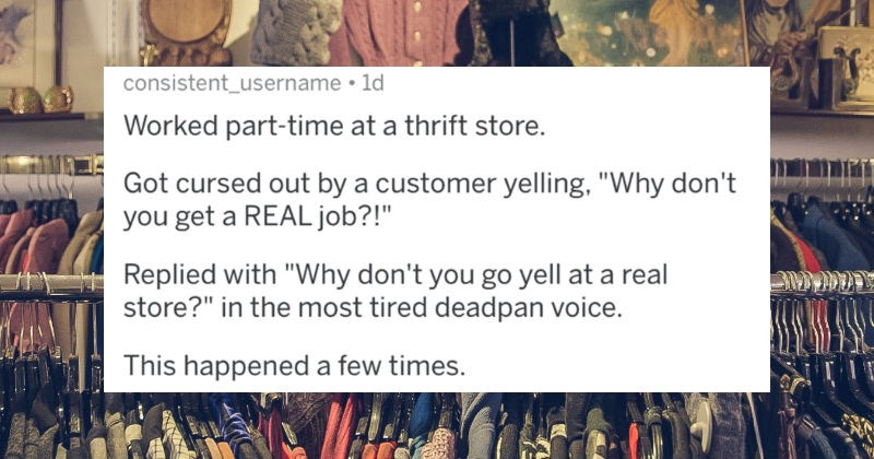 A collection of brutal clapbacks that waiters/servers delivered to rude customers.