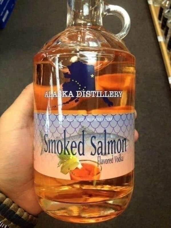 Drink - ALA KA DISTILLERY Smoked Salmon Hlavored Voda