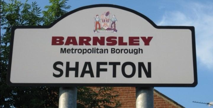 Signage - BARNSLEY Metropolitan Borough SHAFTON
