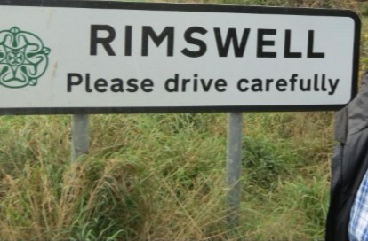 Nature reserve - RIMSWELL Please drive carefully
