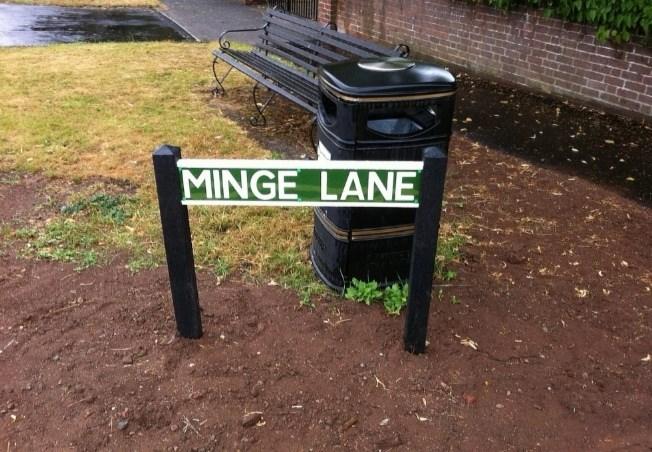 Waste container - MINGE LANE