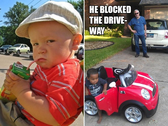 Motor vehicle - HE BLOCKED THE DRIVE- WAY CAAM odger