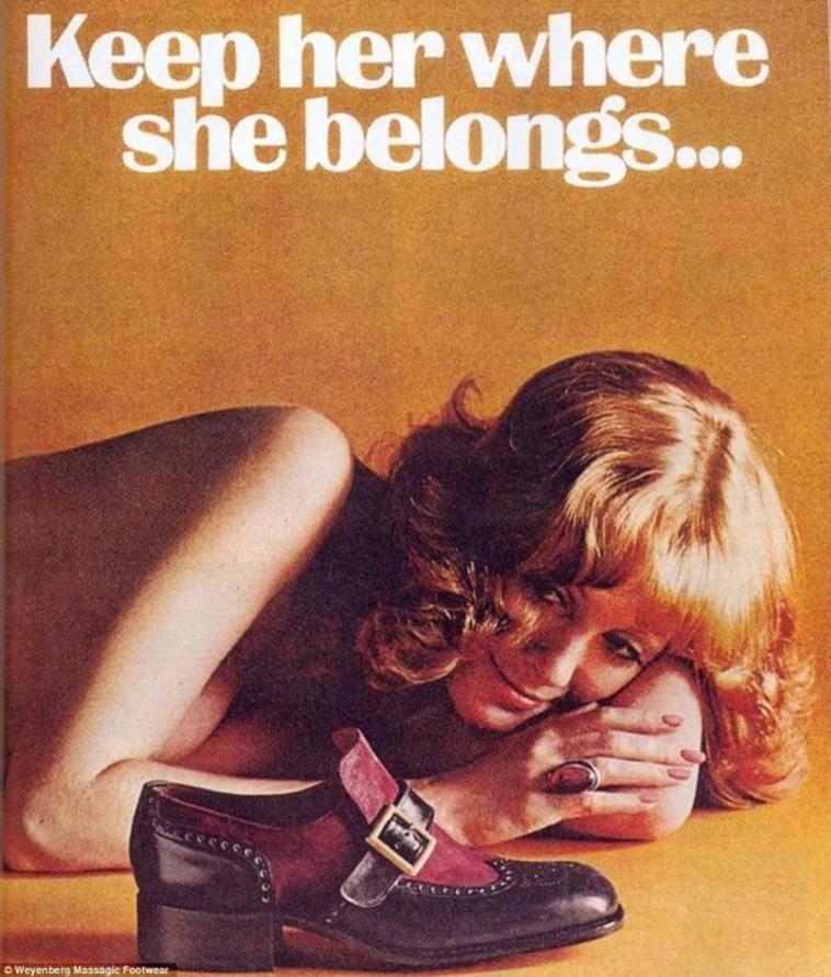 Text - Keep her where she belongs.. O Weyenberg Massagic Footwear