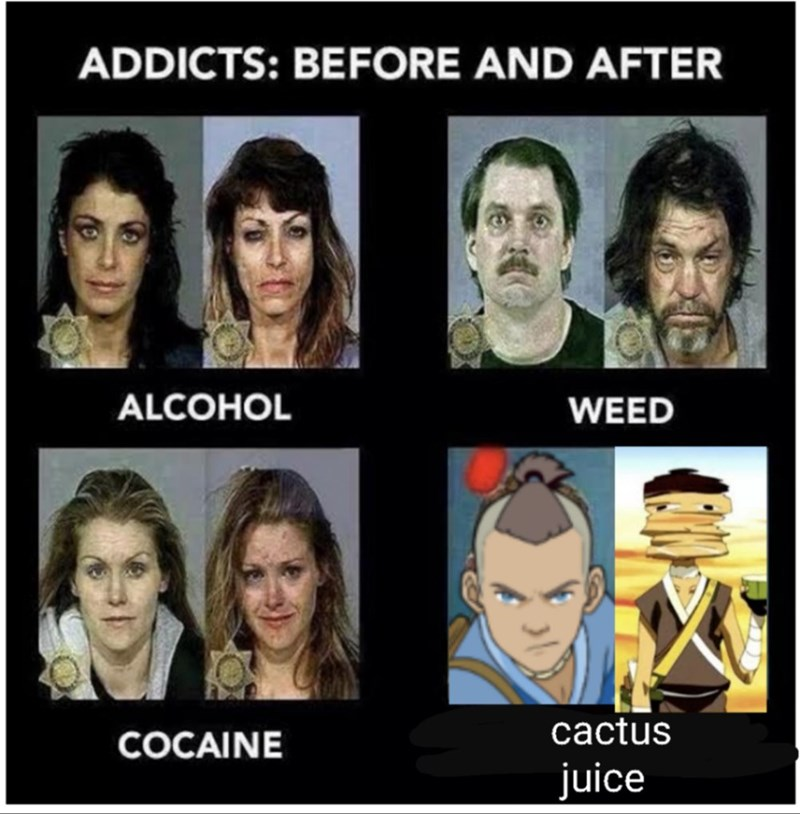 Face - ADDICTS: BEFORE AND AFTER ALCOHOL WEED COCAINE cactus juice