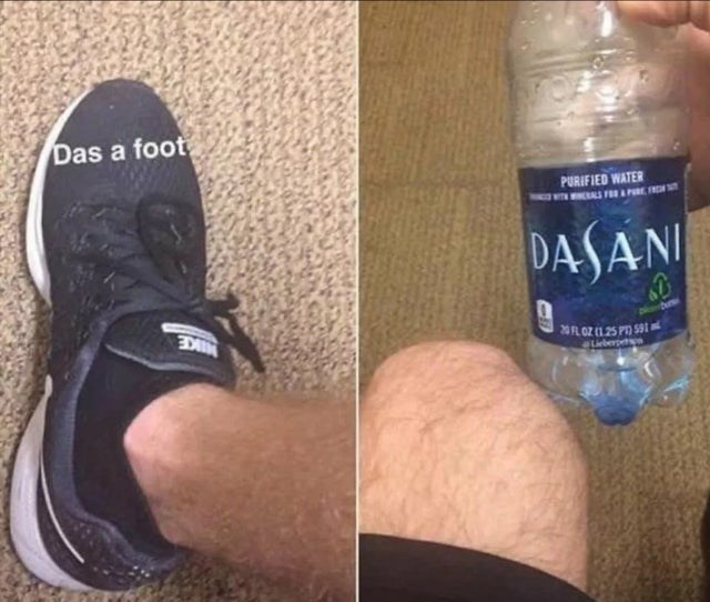 Footwear - Das a foot PURIFIED WATER CRALS FPE R DASANI MICE bere