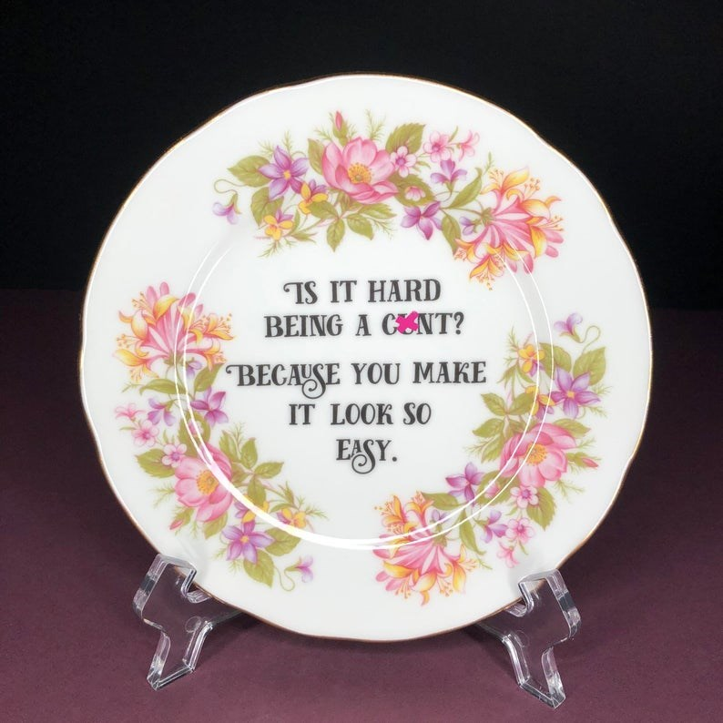 Dishware - IS IT HARD BEING A CENT? BECAUSE YOU MAKE IT LOOK SO ESY.