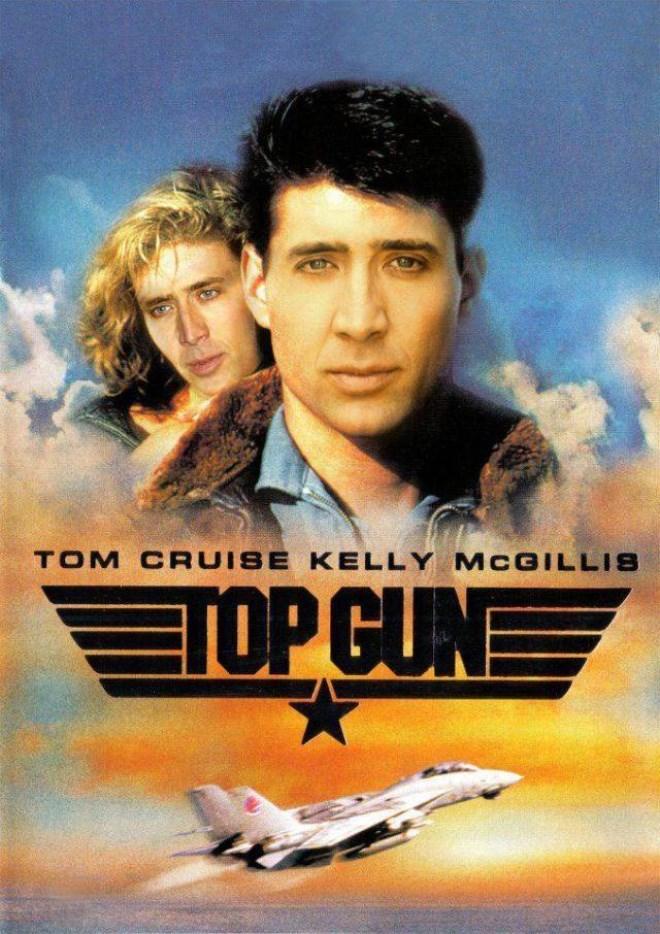 Movie - TOM CRUISE KELLY MCGILLIS TOP GUN