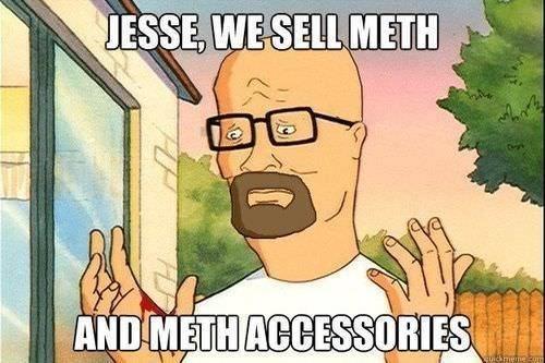 Cartoon - JESSE, WE SELL METH AND METH ACCESSORIES Cuickmerneom