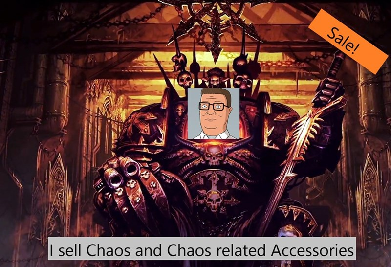 Poster - Sale! I sell Chaos and Chaos related Accessories