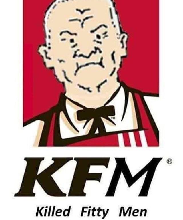 Poster - KFM Killed Fitty Men