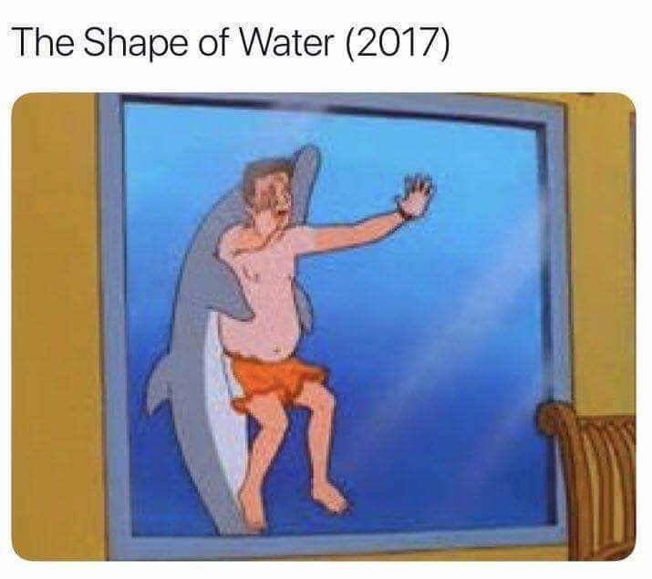 Cartoon - The Shape of Water (2017)