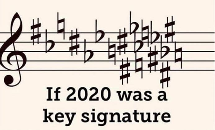 Music - If 2020 was a key signature
