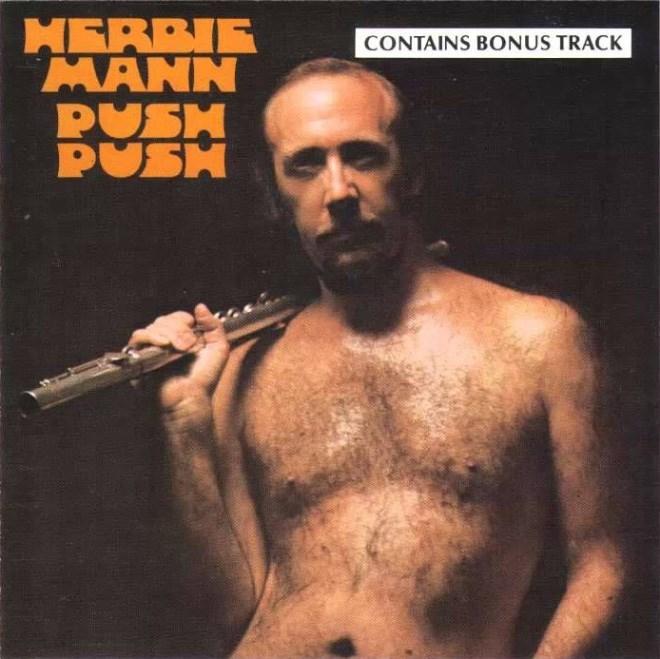Album cover - MERBIE MANN PUSH PUSH CONTAINS BONUS TRACK