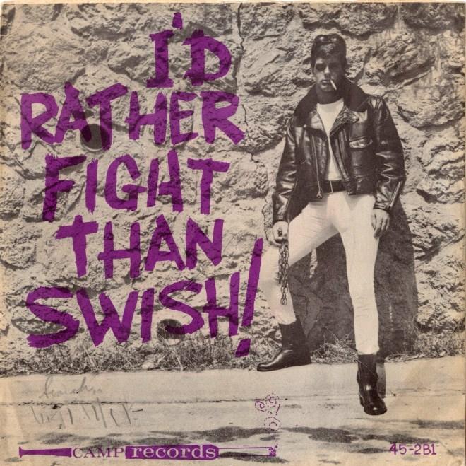 Purple - RATHER FIGAT THAN SWISH ICAMP records 45-2B1