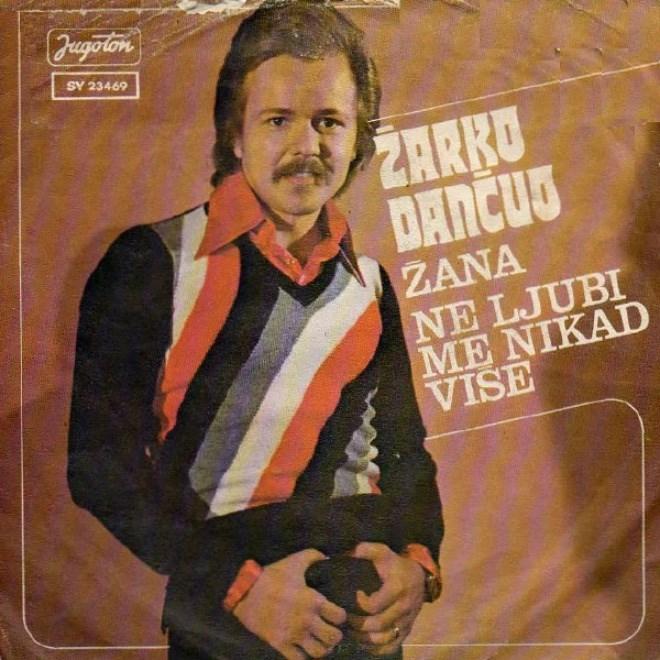Album cover - Jugoton SY 23469 ZARRO DANČUS ŽANA NE LJUBI ME NIKAD VISE