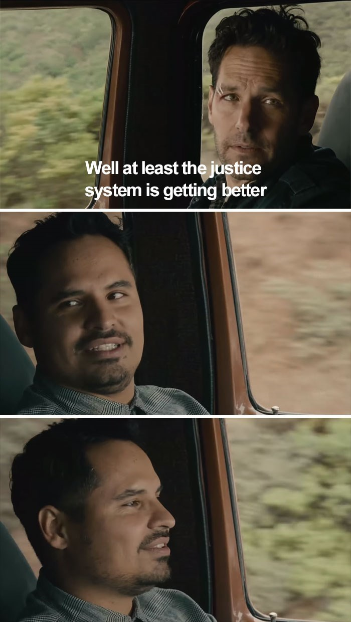 Face - Well at least the justice system is getting better