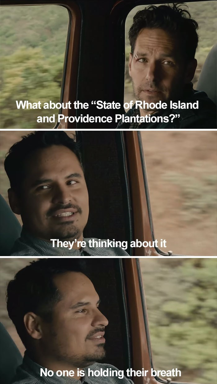 """Face - What about the """"State of Rhode Island and Providence Plantations?"""" They're thinking about it No one is holding their breath"""
