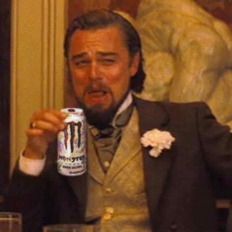 leonardo dicaprio laughing meme - Alcohol