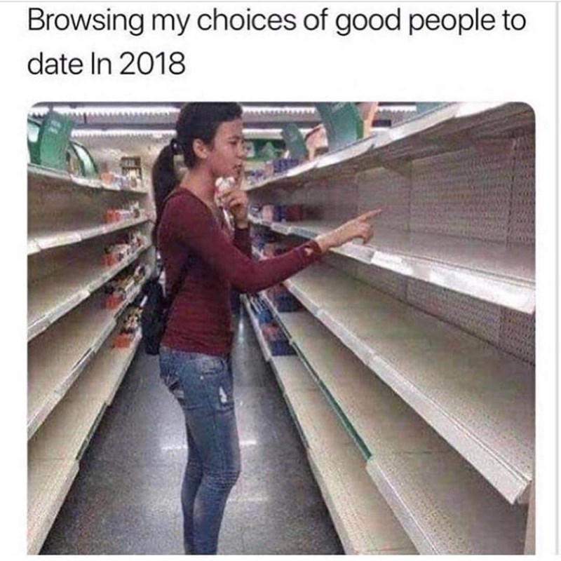 Product - Browsing my choices of good people to date In 2018