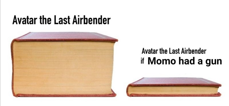 Product - Avatar the Last Airbender Avatar the Last Airbender if Momo had a gun