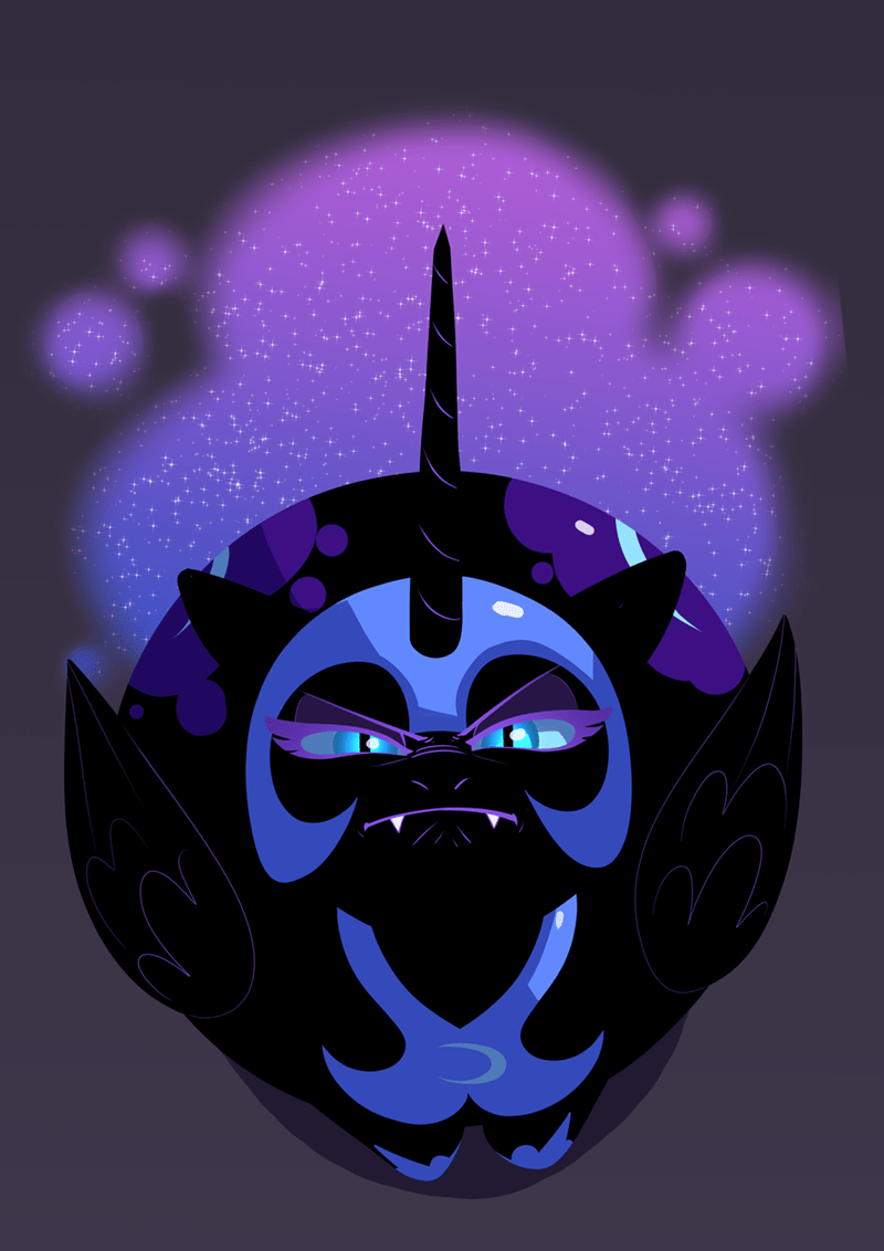 nightmare moon underpable princess luna - 9531035136