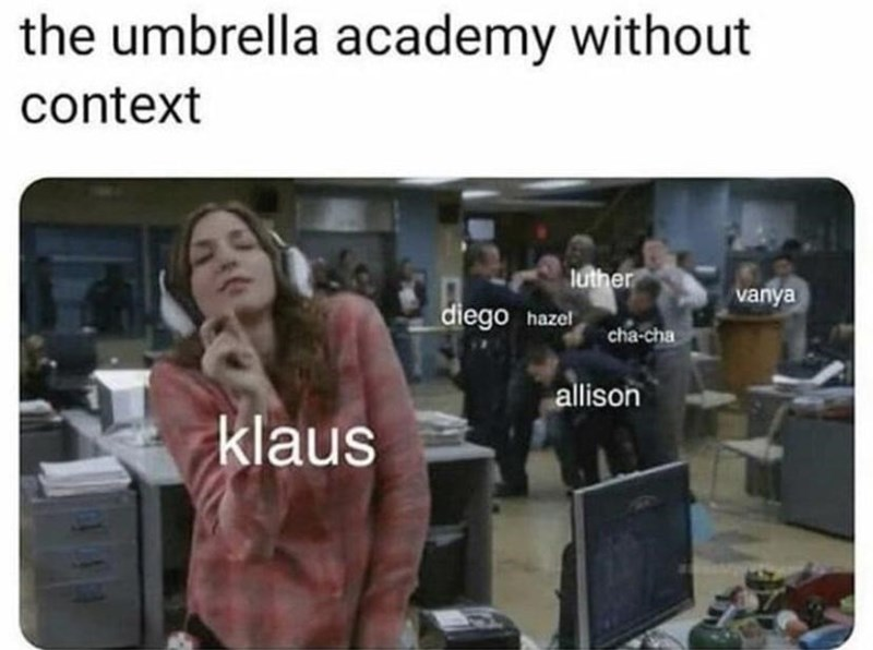 Product - the umbrella academy without context luther vanya diego hazel cha-cha allison klaus