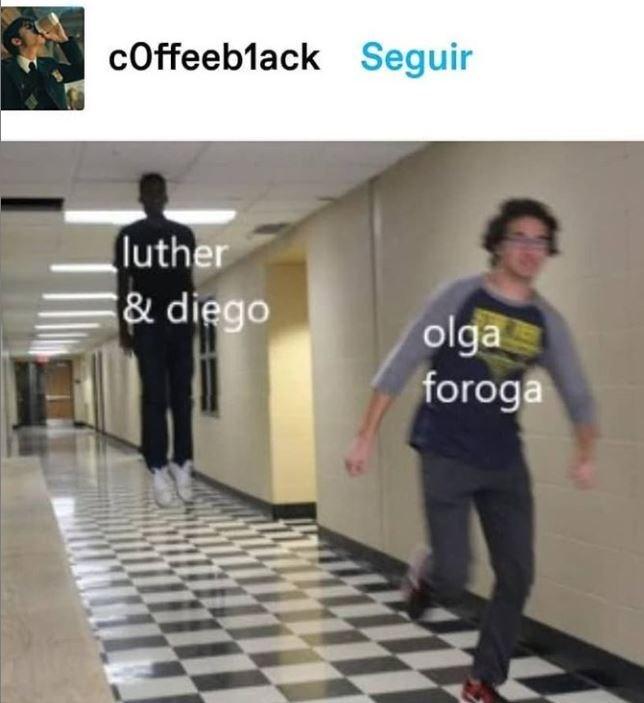 Standing - coffeeblack Seguir (luther & diego olga foroga