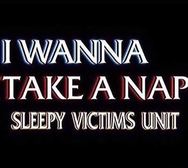 law and order meme - Text - I WANNA TAKE A NAP SLEEPY VICTIMS UNIT
