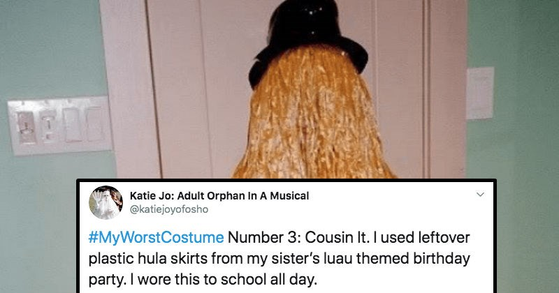 A collection of Twitter users share the worst Halloween costumes they've ever seen.