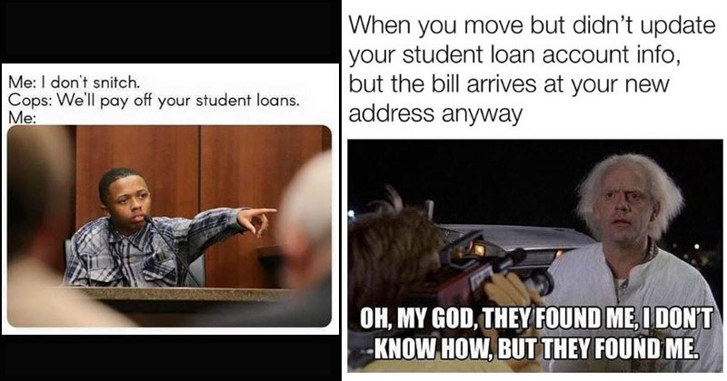 Funny memes about student loans