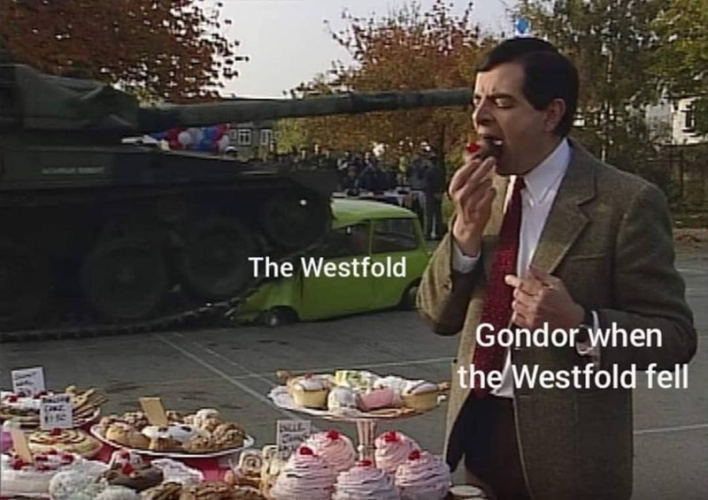 Food - The Westfold Gondor when the Westfold fell