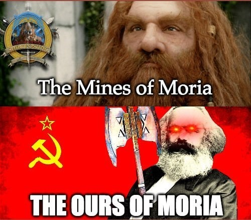 Facial hair - The Mines of Moria THE OURS OF MORIA