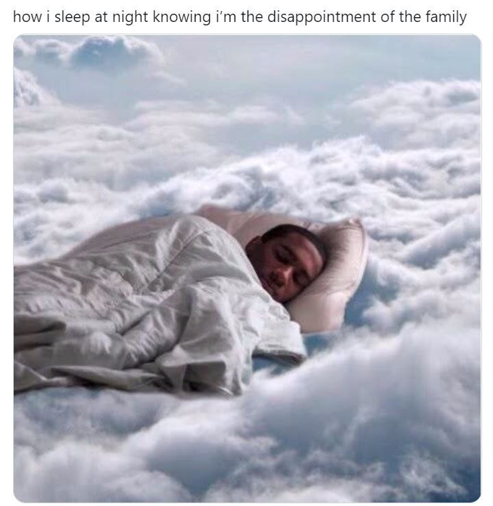 Sky - how i sleep at night knowing i'm the disappointment of the family