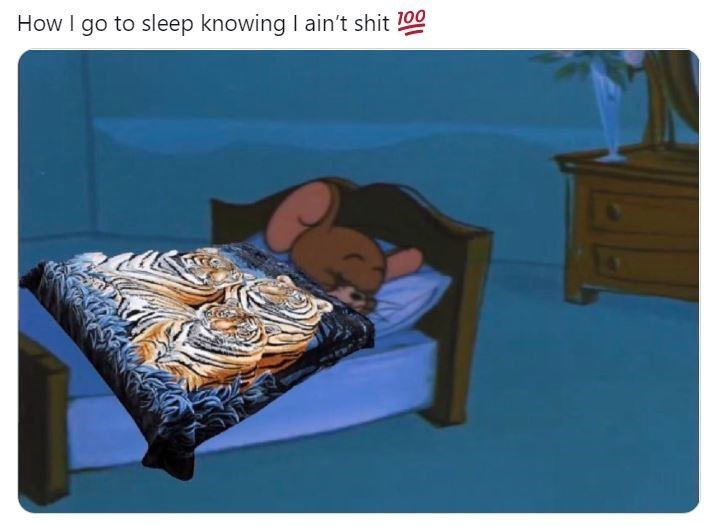 Furniture - How I go to sleep knowing I ain't shit 100
