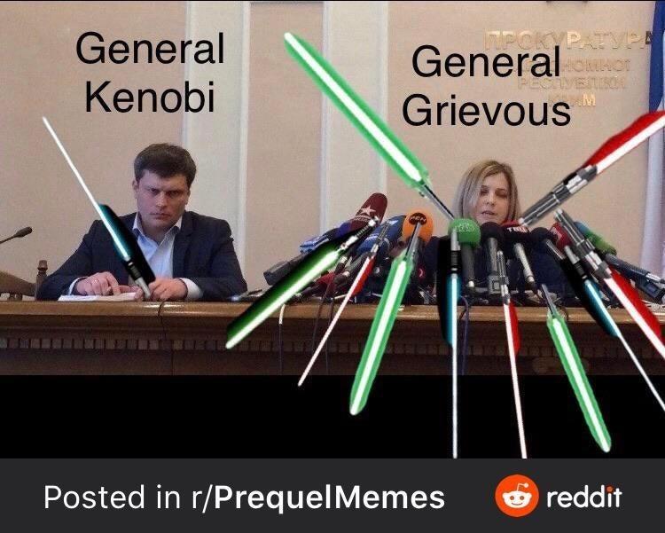 Musical instrument - General Kenobi MPOKYPATVPE Generalr Grievous TRE Posted in r/PrequelMemes O reddit