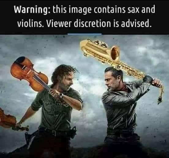 Music - Warning: this image contains sax and violins. Viewer discretion is advised.
