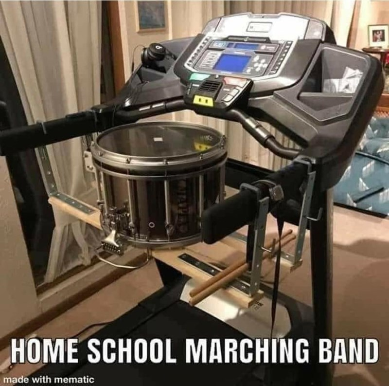 Drum - HOME SCHOOL MARCHING BAND made with mematic APED
