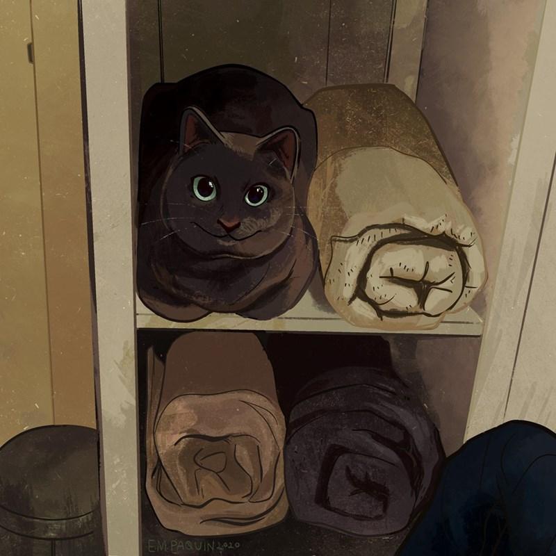 Cat - EM PAQUIN2020