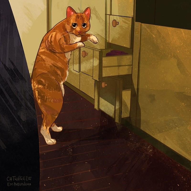 Felidae - TNIP CATWHEEZIE EM.PAQUIN2020