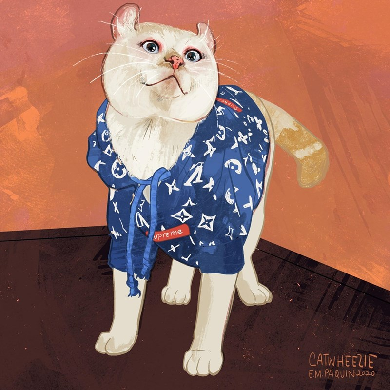 Cat - Upreme CATWHEEZIE EM. PAQUIN 202o