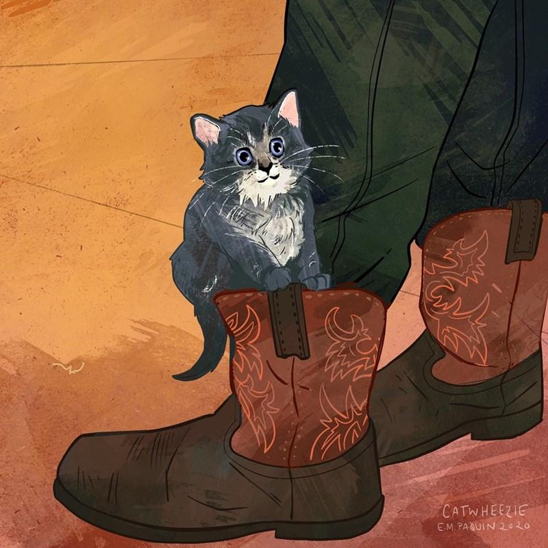 Cat - CATWHEEZIE E.M. PAQUIN 2020