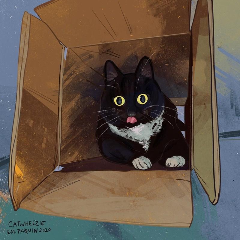 Cat - CATWHEEZIE EM. PAQUIN 2020