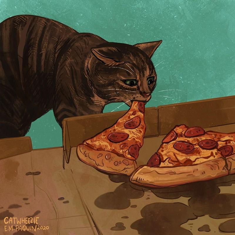 Cat - CATWHEEZIE E-M.PAQUIN2020O