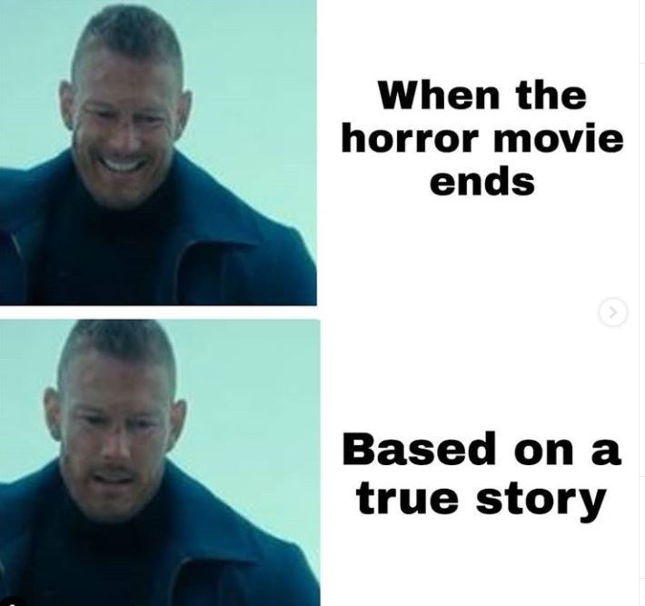 Face - When the horror movie ends Based on a true story