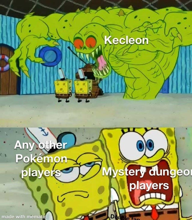 Cartoon - Kecleon Any.other Pokémon- players Mystery dungeor players made with mematic Douple tan