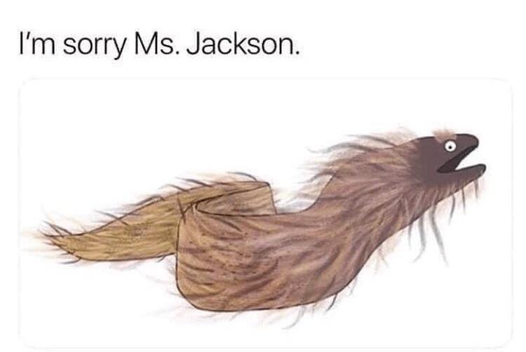 Feather - I'm sorry Ms. Jackson.